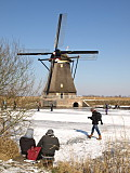 A winters day in Holland (Kinderdijk)